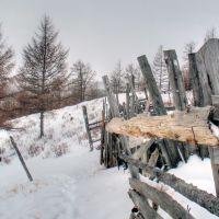 The ravine, Жиганск