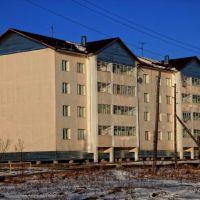 Новый дом на улице Черского, Зырянка