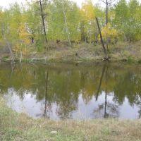 Придорожное озеро, сентябрь (Якутия), Майя