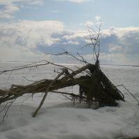In winter, Менкеря