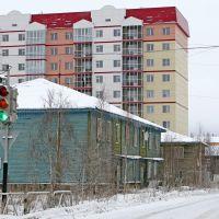 Residential buildings. 40 Let Oktyabrya street, Мирный