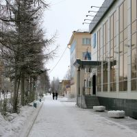 Lenina str. Municipality office, Мирный