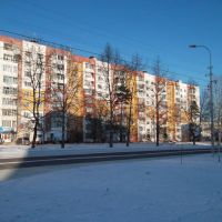 Якутия, Нерюнгри, центр города - Yakutiya, Neryungri, center, Нерюнгри