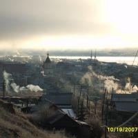 Утро.Осень., Олекминск