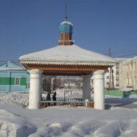 Историческая беседка в Олекминске, Олекминск