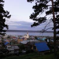 Вечерний пейзаж, Олекминск