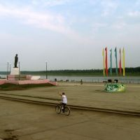 Площадь Ленина.Сунтар., Сунтар