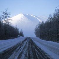 Ust-Nera road, Усть-Нера