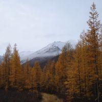 Сентябрь, Усть-Нера