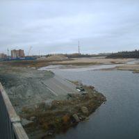 Вид с моста, Новый Уренгой