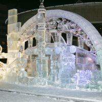 Зима в Новом Уренгое, Новый Уренгой