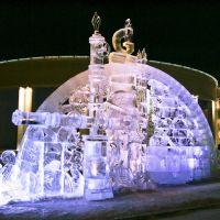 Ледяные фигуры (декабрь 2008), Новый Уренгой
