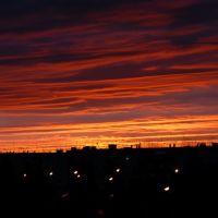 Закат., Муравленко