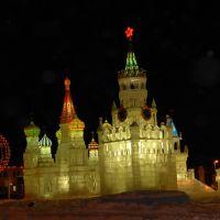 Ледовый городок-2009., Губкинский