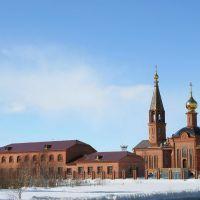 Церковь в г. Губкинский., Губкинский