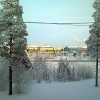 Вид на промзону, Губкинский