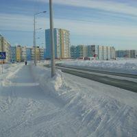 набережная зима -44с, Надым