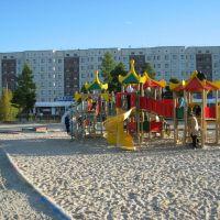 Детская площадка в парке, Надым
