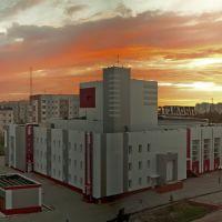 """ДК """"Прометей"""" вид с крыши Набережной 1., Надым"""