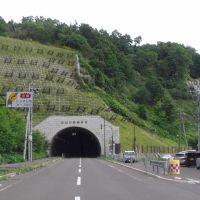 県道87号 知円別トンネル 2009/08/27, Южно-Курильск