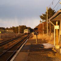 JR落石駅(Ochiishi Sta.), Южно-Курильск