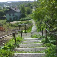 Ул.Чехова, западная лестница., Александровск-Сахалинский