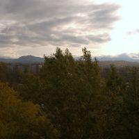 """Александровск-Сахалинский - вид из гостиницы """"Три Брата"""", Александровск-Сахалинский"""