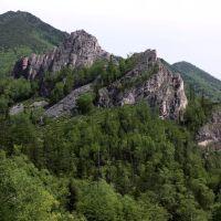 Первомайский перевал скалы, Анбэцу