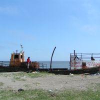 Баркас на анивском заливе, Анива