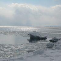 Анивский залив зимой, Анива