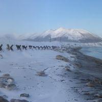 ледяной пляж, Взморье
