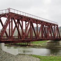 железнодорожный мост через р. Лопатинку в Горнозаводске, Горнозаводск