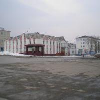 Банк на площади, Долинск