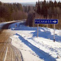 Поворот на Русаки, Ильинский