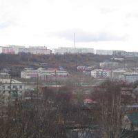 осенний город, Корсаков
