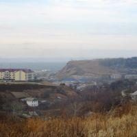 Вид на Калинку (ул.Калинина), Корсаков