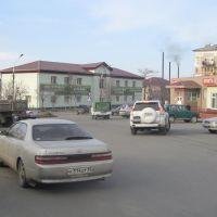 Пять углов (ул. Октябрьская), Корсаков