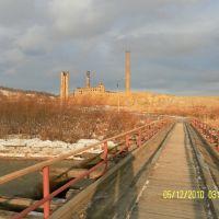 """""""Чёрный мост"""". Декабрь 2010 г., Макаров"""