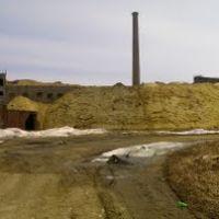 Засыпанный бумажно-целлюлозный завод(20.04.2011г.), Макаров