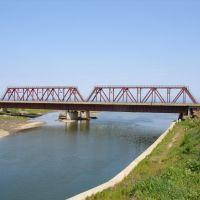 Железнодорожный и автомобильный мосты через р. Макаровка, Макаров