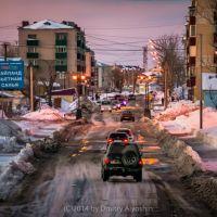 Зимние сумерки (г.Невельск, февраль, 2014г.), Невельск