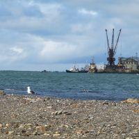 ✔Невельск. Вид на морской порт, Невельск