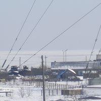 Вид на залив Терпения, Поронайск