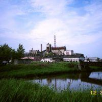 Former Japanese pulp mill (旧日本人絹パルプ敷香工場), Поронайск