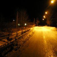 Мост возле бумзавода, Поронайск