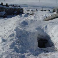 Вход в дом, Северо-Курильск