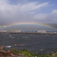 Радуга над проливом, Северо-Курильск