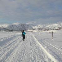Зимняя дорога, Северо-Курильск