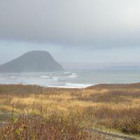Сопка Сигнальная в тумане, Северо-Курильск