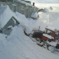 Расчистка снега, Северо-Курильск